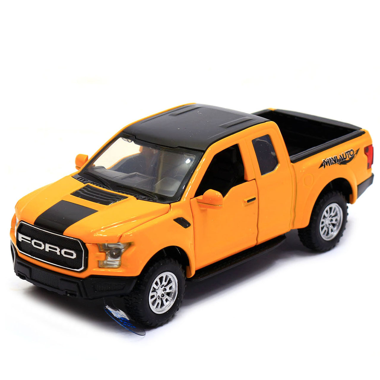 Машинка игровая Автопром «Ford F-150» Жёлтый (7864)