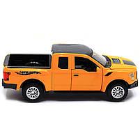 Машинка игровая Автопром «Ford F-150» Жёлтый (7864), фото 2