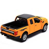 Машинка игровая Автопром «Ford F-150» Жёлтый (7864), фото 3