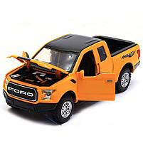 Машинка игровая Автопром «Ford F-150» Жёлтый (7864), фото 4