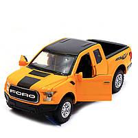 Машинка игровая Автопром «Ford F-150» Жёлтый (7864), фото 5