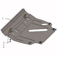 Защита двигателя кольчуга Toyota RAV 4 III 2005-2012 V-2,0; 2,5 , фото 1