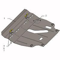 Защита двигателя кольчуга Toyota RAV 4 IV 2013- V-2,5 i, фото 1