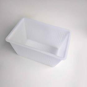 """Форма для сыра """"Кирпич"""" до 2 кг. пластиковая Консенсус"""