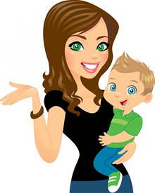 Маме и малышу