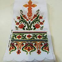 Рушник ритуальный орнамент с крестом, фото 1