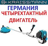 Бензокоса чотиритактних KRAISSMANN 38 VRS 4 мотокоса, фото 2