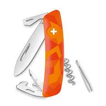 Швейцарский нож SWIZA C03 Luceo Оранжевый (30.2070)
