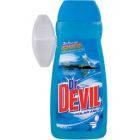 Dr.DEVIL 3в1  aqua гель для WC 400 мл., полярная вода+ запасной блок, фото 1