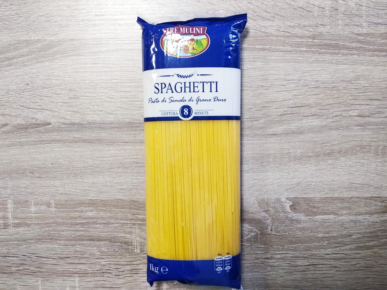 Макарони Tre Mulini Спагетті 1кг.
