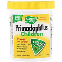 Пробиотики для Детей, Primadophilus, Children, Nature's Way, 141 гр