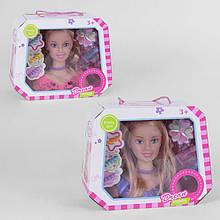 Голова для макияжа и причесок 133-5 (36/2) 2 вида, в коробке