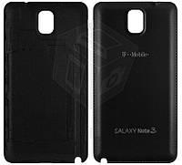 Задняя крышка батареи для Samsung Galaxy Note 3 N900, N9000, N9005, N9006, черная, оригинал