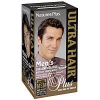 Комплекс для Роста Оздоровления Волос для Мужчин, Ultra Hair, Natures Plus, 60 таблеток