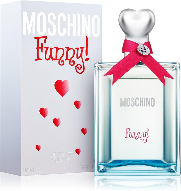 Moschino Funny Туалетная вода 100 ml (Москино Мошино Мосино Фанни) Женский Парфюм