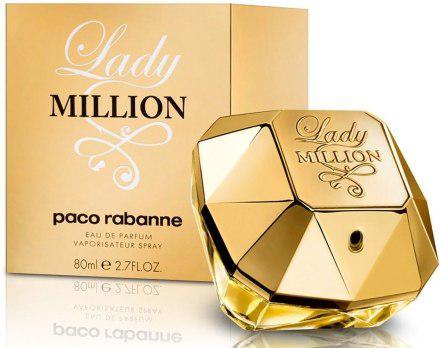 Paco Rabanne Lady Million Парфюмированная вода 80 ml (Пако Рабане Леди Миллион)