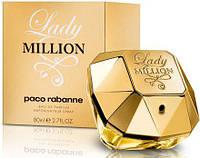 Paco Rabanne Lady Million Парфюмированная вода 80 ml (Пако Рабане Леди Миллион), фото 1