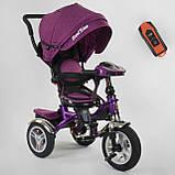 Трехколесный велосипед с родительской ручкой., фото 3