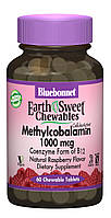 Метилкобаламин (В12) 1000мкг, Вкус Малины, Earth Sweet Chewables, Bluebonnet Nutrition, 60 жевательных