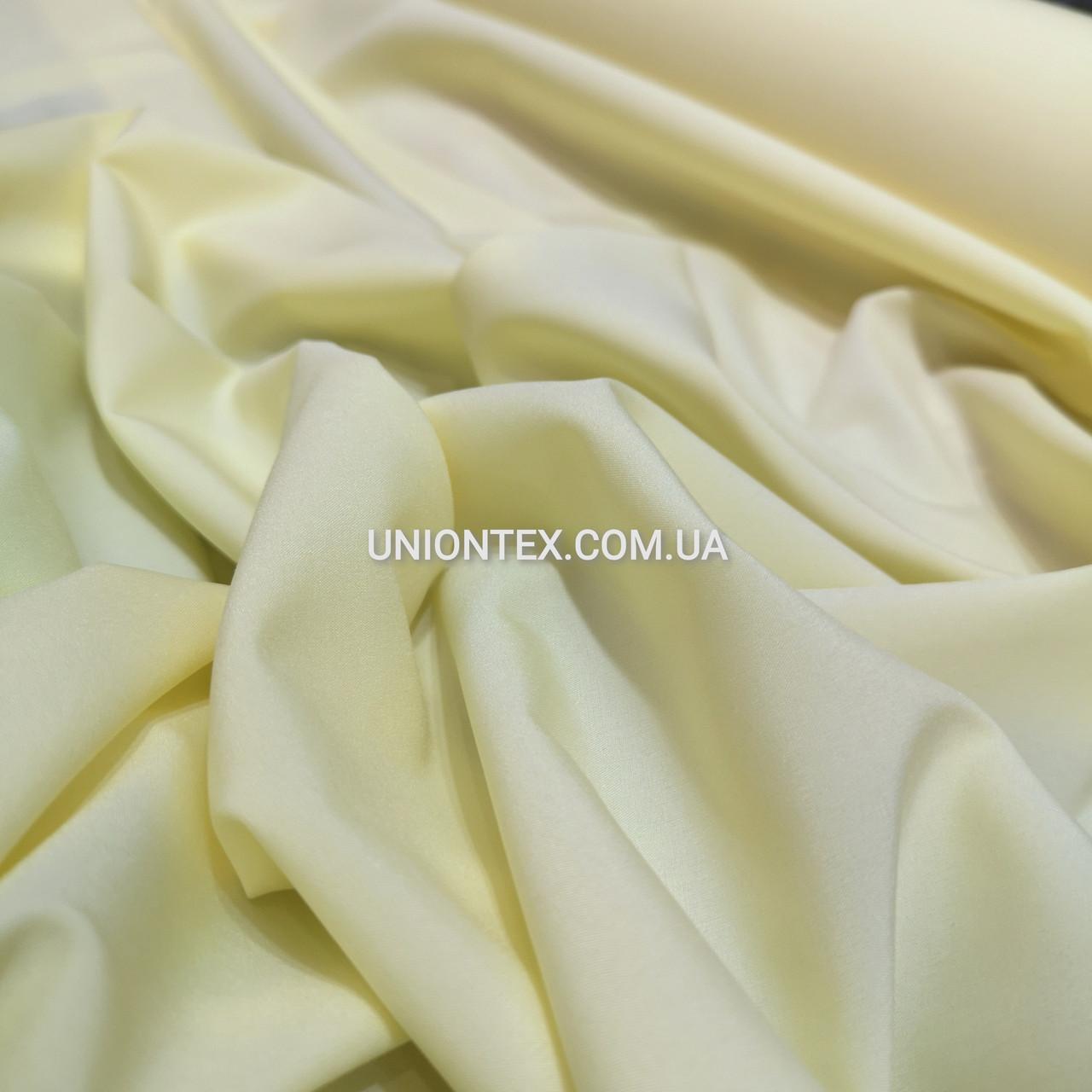 Ткань супер софт бледно-желтый