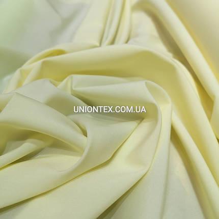 Ткань супер софт бледно-желтый, фото 2