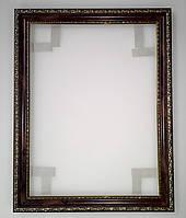 """Багеты (рамки) """"Темное дерево"""" для картин размером 40х50см"""