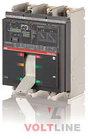 Автоматические выключатели Tmax свыше 800А T7S 1000 PR231/P LS/I In=1000A 3p F F