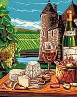 GX 31480 Провинциальная жизнь во Франции Картина по номерам на холсте 40х50см без коробки