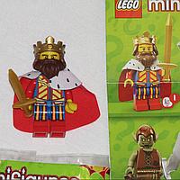 Lego minifigures Лего коллекционная минифигурка Король из 13-й серии