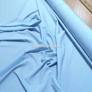 Ткань супер софт голубой