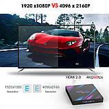 Смарт ТВ приставка SmartTV H96 Max 2gb/16gb Android TV box + клавиатура, фото 6