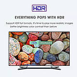 Смарт ТВ приставка SmartTV H96 Max 2gb/16gb Android TV box + клавиатура, фото 7