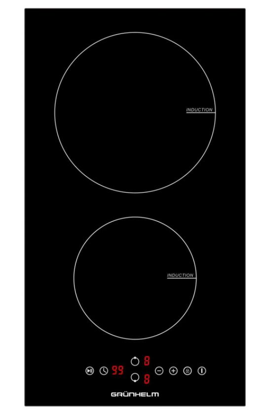Варочная поверхность индукционная GRUNHELM GPI 523 B (домино)