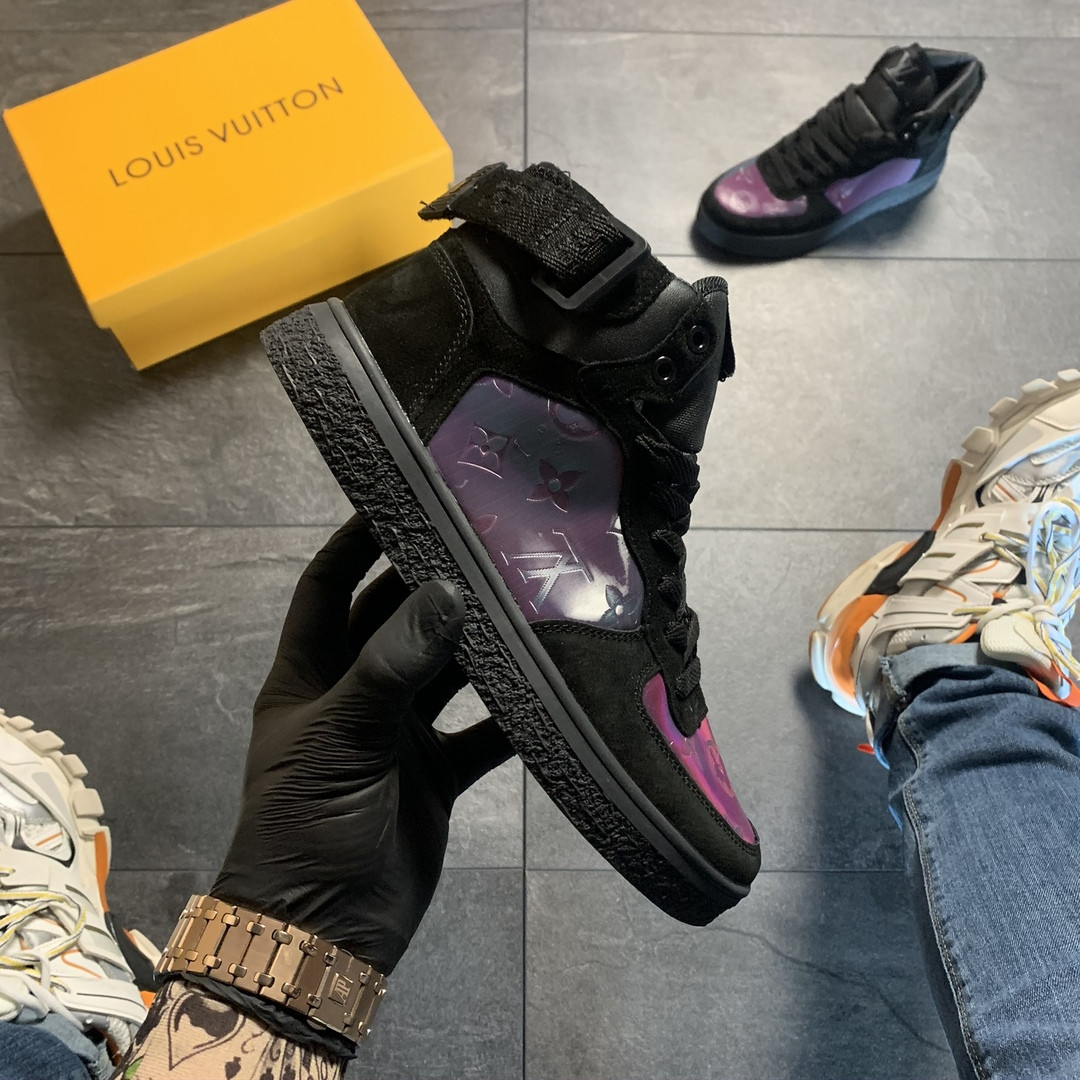 Женские кроссовки Louis Vuitton Boombox, кроссовки луи виттон бумбокс