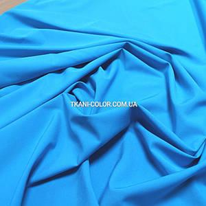 Ткань супер софт голубая бирюза