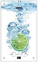 Газовая колонка Zanussi GWH 10 Fonte Glass Glass Lime 10 л/мин., 20 кВт