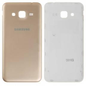 Задняя крышка Samsung J320H Galaxy J3 (2016) золотистая, фото 2