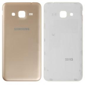 Задняя крышка Samsung J320H Galaxy J3 (2016) золотистая