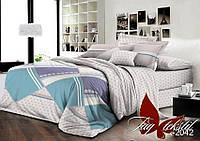 Качественный комплект семейного постельного белья из ранфорса R2042