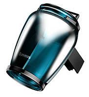 Ароматизатор в машину  Baseus Zeolite Car Fragrance Blue, фото 1