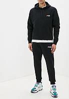 Летний мужской спортивный костюм Fila (Фила) с капюшоном