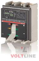 Автоматические выключатели Tmax свыше 800А T7H 1250 PR231/P LS/I In=1250A 3p F F