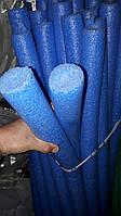 Аквапалка. Нудлс для аквафітнесу і плавання 40 мм. Колір синій.