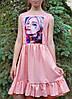 Модное  платье для девочки  код 933  лето , размеры на рост от 140 до 158 возраст от 9 лет и старше