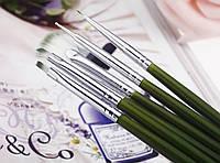 Кисточки для дизайна ногтей набор, фото 1