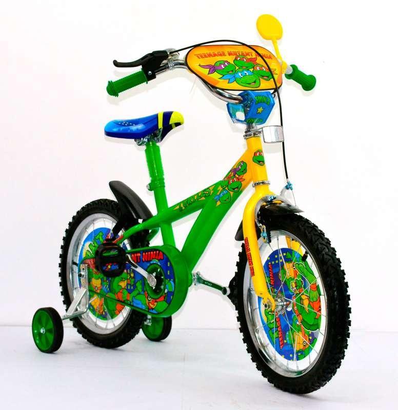 Велосипед детский 16 дюймов 141603 Черепашки Ниндзя