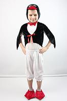 Детский карнавальный костюм Пингвин из велюра от 3 до 6 лет