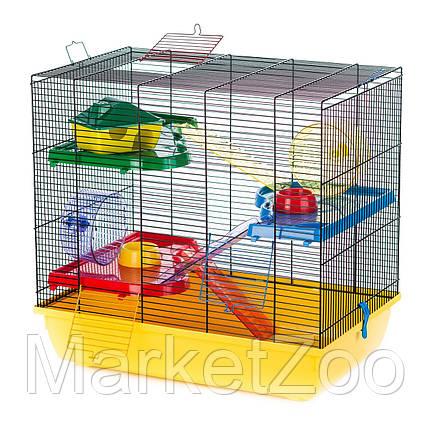 Клетка для грызунов TEDDY GIGANT II ™️ InterZoo G085 (580*380*550 мм), фото 2