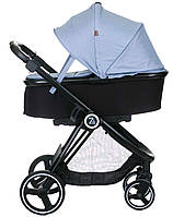 Универсальная коляска 2 в 1 Babyzz B102 (синий цвет)