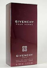 Givenchy Pour Homme Туалетная вода 100 ml (Живанши Пур Хом Хоум Красный) Мужской Парфюм Аромат Духи, фото 3
